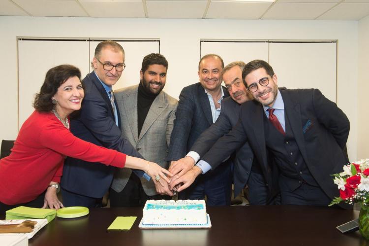 Washington: Prince Badr bin Farhan inaugurates the new office of the Saudi Research Group