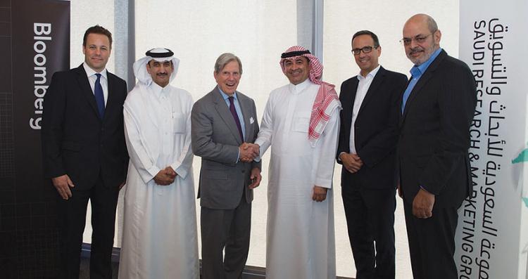 اكتمال تفاصيل الشراكة بين «بلومبرغ» و«المجموعة السعودية للأبحاث والتسويق»