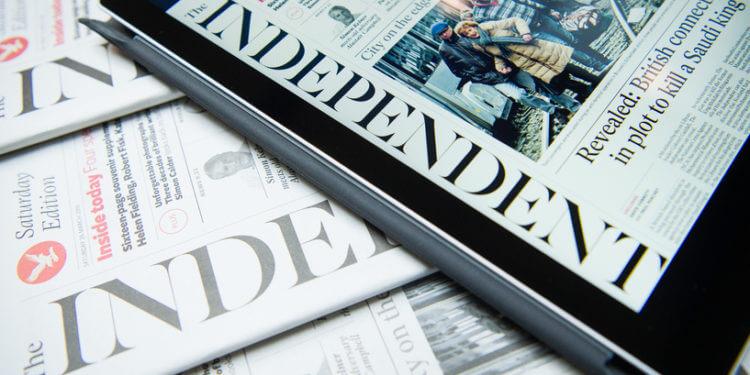 أسّست صحيفة إندبندنت العربية، والأوردية، والفارسية، والتركية، في يناير 2019