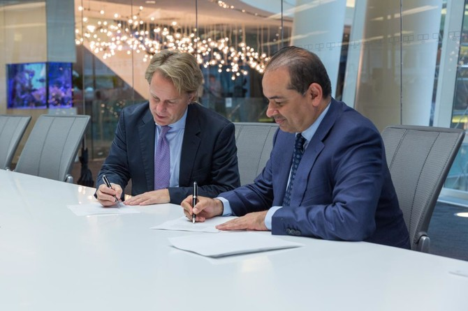إعلان إتفاقية عقد شراكة بين المجموعة وشركة بلومبرج
